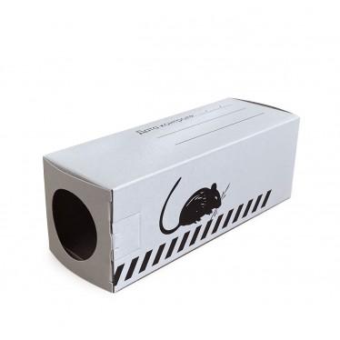 Контейнер картонный для мышей БЕЛЫЙ