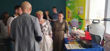 В мае 2021 года мы приняли участие в научно-практической конференции в Санкт-Петербурге